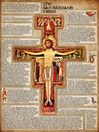 san damiano crucifix san damiano cross explained poster catholic to the max online