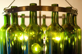 Glass Bottle Chandelier Beer Bottle Chandelier Kit Diy Beer Bottle Chandelier Diy