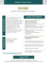 The Best Resume Format For Freshers by Best Resume For Computer Science Student Resume For Your Job