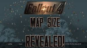 Fallout 3 Interactive Map Fallout 4 Map Size Revealed Youtube