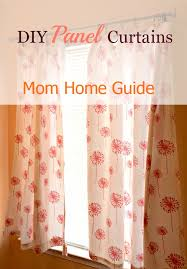 Curtain Patterns To Sew No Sew Diy Curtains