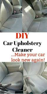 home remedies for cleaning car interior auto detailing how to clean upholstery in a car with home
