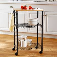 Mainstays Kitchen Cart Walmartcom - Kitchen cart table
