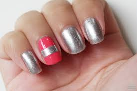 beauty with the beautifool recreated manicure coral u0026 silver