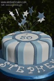 50 birthday cake men s blue 50th birthday cake bakeoftheweek casa costello