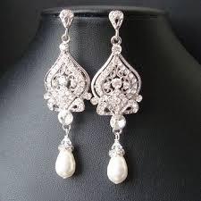 boucle d oreille mariage boucles d oreilles de style victorien mariée ivoire blanc perle