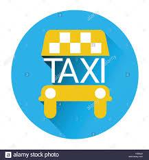 taxi service icon book car application button stock vector art