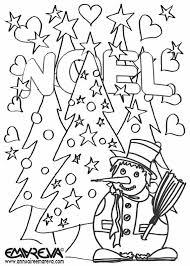 115 dessins de coloriage Noël à imprimer