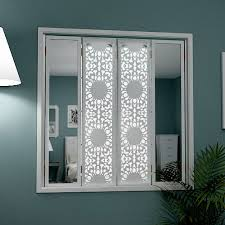 shutters with side mirrors