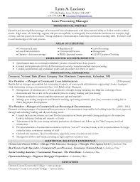 Sle Resume Mortgage Operations Manager Mortgage Operations Manager Resume Resume Ideas