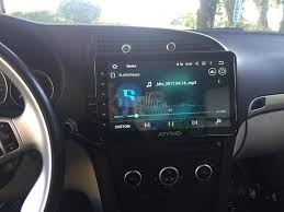 announcements of steering wheel control when you install joying