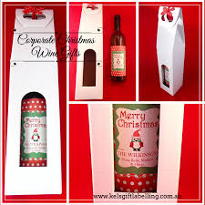 corporate christmas gifts personalised corporate christmas gifts kels gift labelling