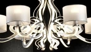 Modern Chandeliers Uk The Light Tubular Led Chandelier