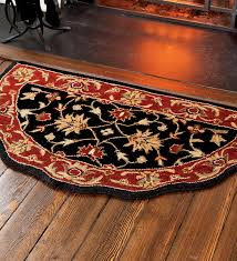 rugged ideal kitchen rug braided rug as hearth rugs fireproof