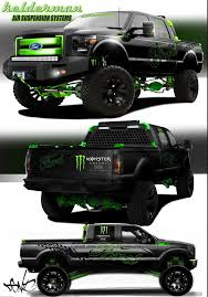monster truck show bakersfield ca ford reveals trio of f series sema project trucks truck trend news