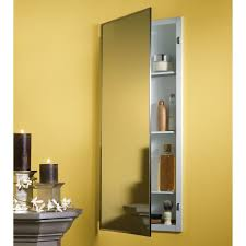 bathroom ideas large bathroom mirror with shelf hanging on yellow