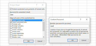 how to prevent specific cell contents from being deleted in excel