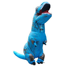 Dino Halloween Costume Rex Inflatable Costume Sixty Depot