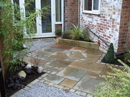 Paved Garden Design Ideas Small Paved Garden Designs Landscape