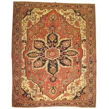 Antique Oriental Rugs For Sale Antique Persian Heriz Serapi Rug For Sale At 1stdibs