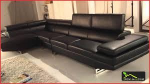 canape avec 2 meridienne canape avec 2 meridienne 141209 canapé d angle en cuir noir