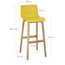 chaise bar chaise de bar drift résine bois monde du tabouret