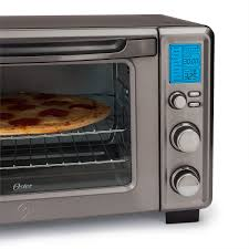 Reheating Pizza In Toaster Oven Oster Black Stainless Collection Digital Toaster Oven With