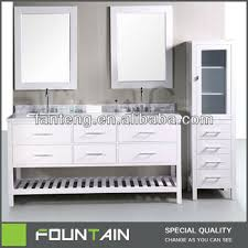 Marble Top Bathroom Cabinet 72 Inch White Large Double Sinks Marble Top Bathroom Vanity