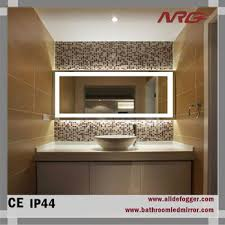 bathroom wall mirror with led light for makeup bath shower mirrors
