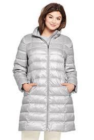 plus size light jacket women s gray coats jackets lands end