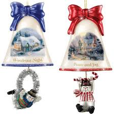 Glass Bell Christmas Ornaments - 866 best christmas home and kitchen gifts images on pinterest