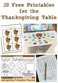 20 free thanksgiving printable activities kids kids reading