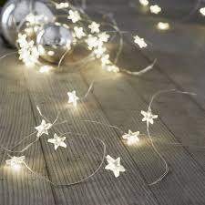 christmas light decoration company star fairy lights 30 bulbs the white company us shopping