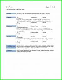 Free Basic Resume Template Resume Template 93 Cool Free Templates For Microsoft Word 97
