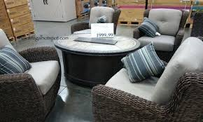 Costco Outdoor Patio Furniture Costco Porch Furniture Signature 5 Woven Costco Outdoor