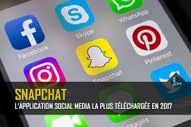 snapchat l u0027application social media la plus téléchargée en 2017