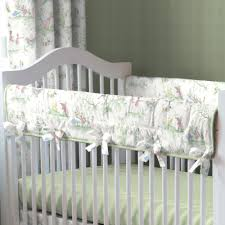 Green And White Crib Bedding Green Nursery Rhyme Baby Bedding Collection Carousel Designs