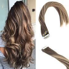 global hair extensions balayage in human hair extensions brown with caramel