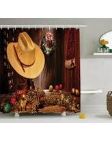 Western Style Shower Curtains Exclusive Western Shower Curtains Deals
