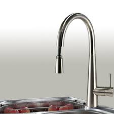 pull kitchen faucet brushed nickel brushed nickel pull out kitchen faucet in usa and canada best