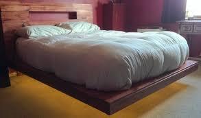 Led Bed Frame How To Build A Diy Floating Bed Frame With Led Lighting