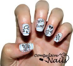 desk doodles compulsive nails