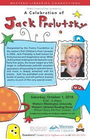 Jack Prelutsky Halloween Poems A Celebration Of Jack Prelutsky Whatcomtalk