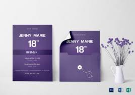 invitation card design template for event debut event invitation card design template in word psd publisher