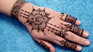 some simple mehndi designs likes comments