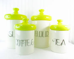 retro canisters etsy