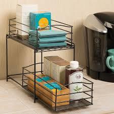 Kitchen Cabinet Sliding Organizers - cabinet organizers you u0027ll love wayfair