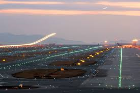 model airport runway lights airport lights kunming changshui international airport