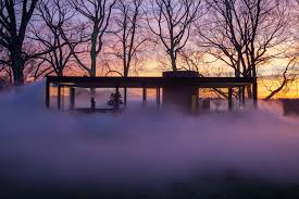 philip johnson office archdaily