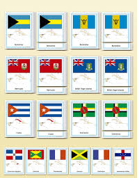Flag Of The Dominican Republic Flags Of The Caribbean Montessori Research U0026 Development